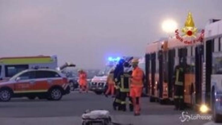 L'intervento dei Vigili del Fuoco in caso di incidente aereo: la simulazione a Rimini