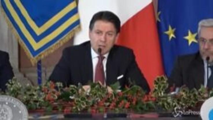 """Governo, Conte: """"Separiamo scuola da università, Azzolina e Manfredi ministri"""""""