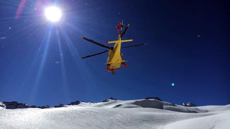 Valanga nella Val Senales, in Alto Adige: morte donna e bambina, bimbo grave