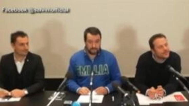 """Governo, Salvini: """"Maratona di Conte? Si ferma al primo chilometro"""""""