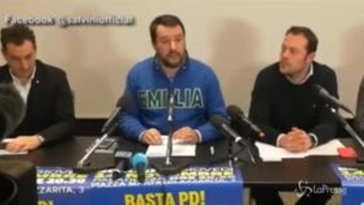 """Salvini: """"Sul Decreto Sicurezza e Legge Fornero faremo le barricate"""""""