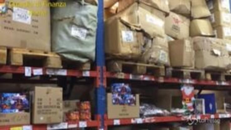Roma, sequestrati oltre 1500 chilogrammi di botti illegali
