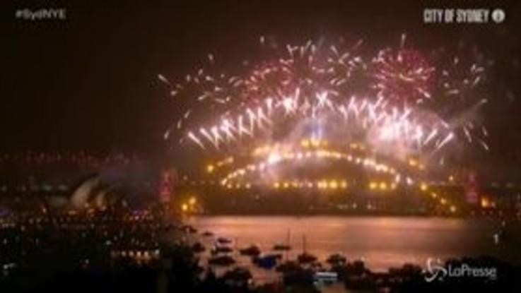 Buon 2020: Sydney ha già salutato il nuovo anno