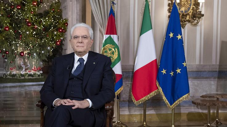 Il discorso di fine anno del presidente Mattarella