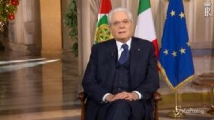 """Mattarella e l'Italia vista dallo spazio: """"Proviamo a guardare il nostro Paese dal di fuori"""""""