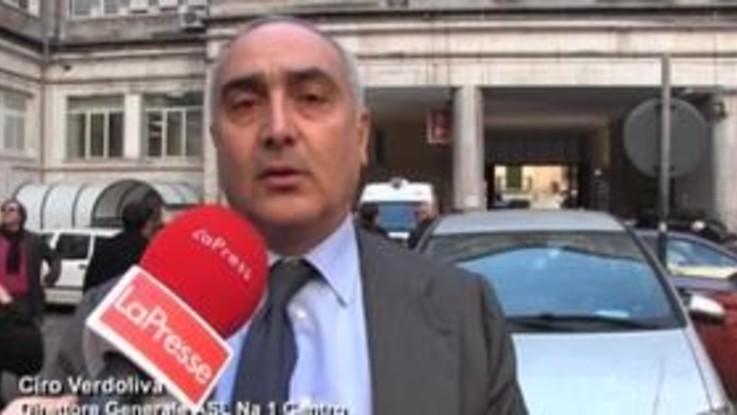 """Botti Napoli, Verdoliva (direttore Asl 1): """"Bollettino di guerra non da società civile"""""""