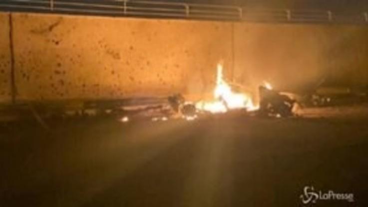 Attacco a Baghdad: ucciso generale iraniano Soleimani