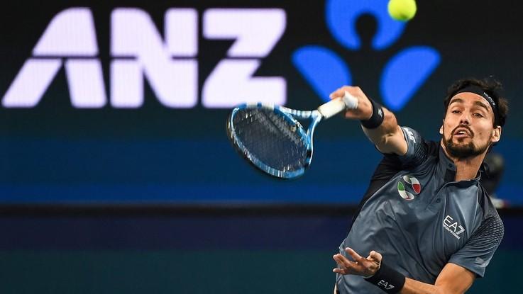 ATP Cup: Russia-Italia 2-0, Fognini si arrende a Medvedev