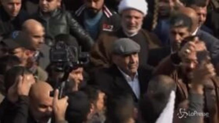 Anche il premier iracheno Abdul-Mahdi ai funerali di Soleimani
