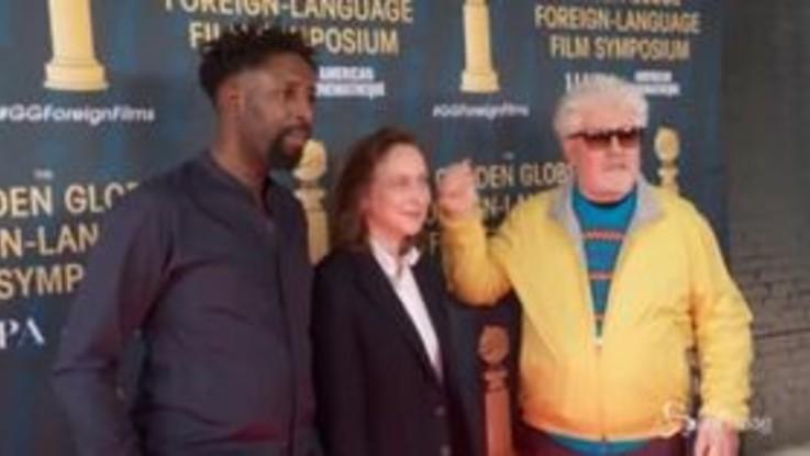 Ai Golden Globe anche Pedro Almodovar e Antonio Banderas