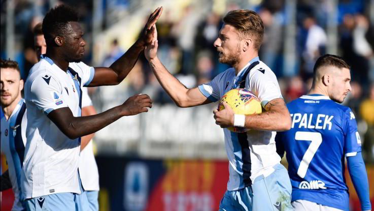 Calcio, Serie A: Brescia-Lazio 1-2 finale