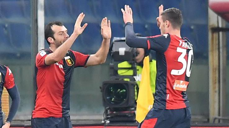 Serie A: il Genoa torna alla vittoria, colpo Verona in casa della Spal