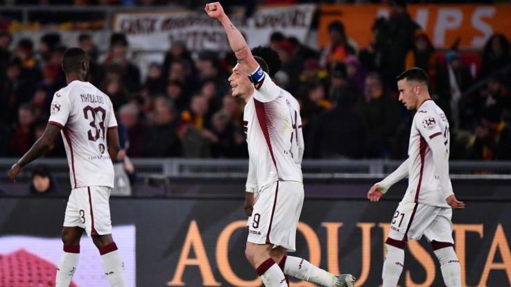 Serie A, colpo Toro all'Olimpico: Roma battuta 2-0