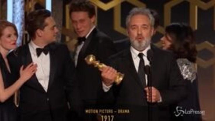 Golden Globe, trionfano Tarantino e Mendes