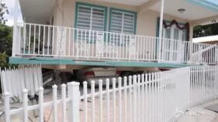 Terremoto: forte scossa a Porto Rico, diverse abitazioni danneggiate