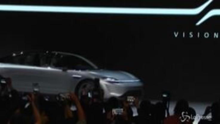 Sony presenta la sua prima auto elettrica: l'azienda nipponica svela Vision-S