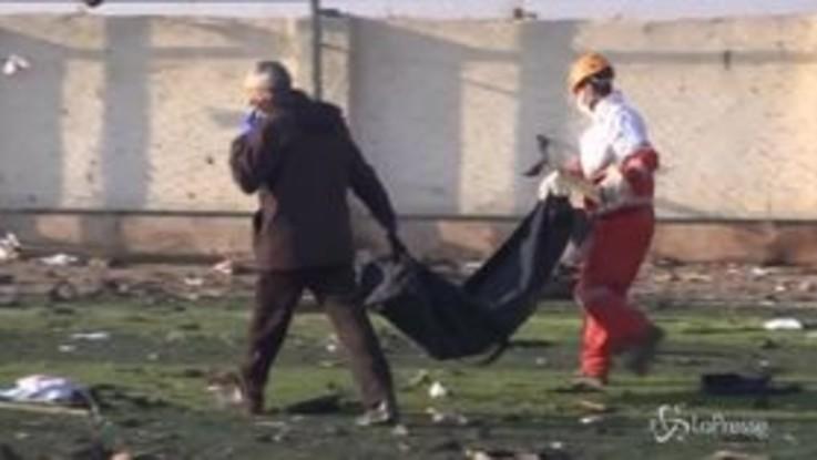 Iran: precipita aereo ucraino, 177 morti