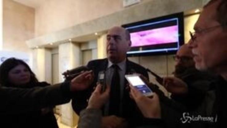 """Usa-Iran, Zingaretti: """"Escalation va fermata con la forza della diplomazia"""""""