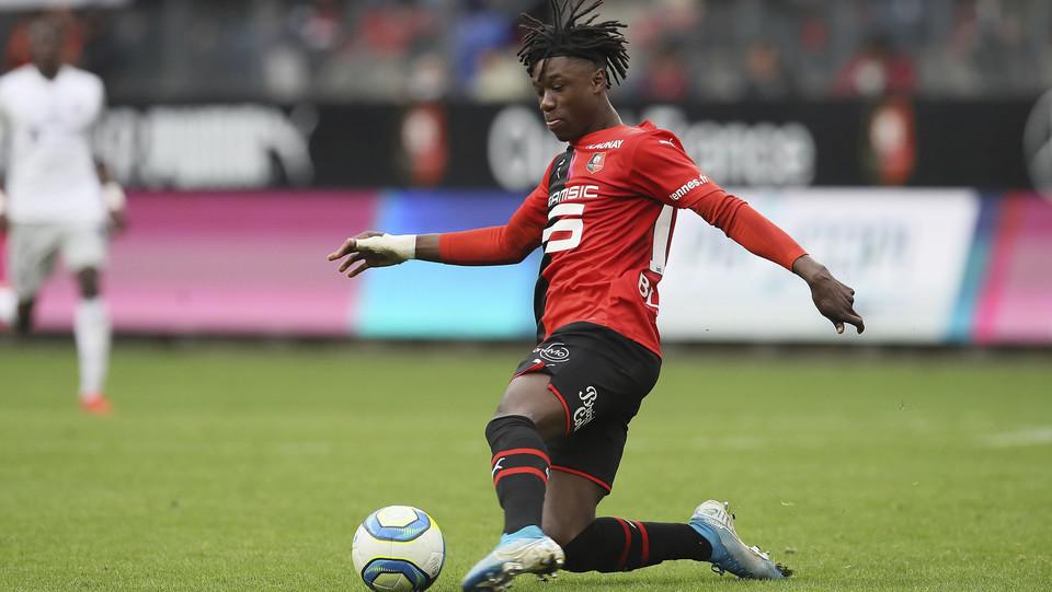 7) Eduardo Camavinga | Rennes - 47,6 milioni ©