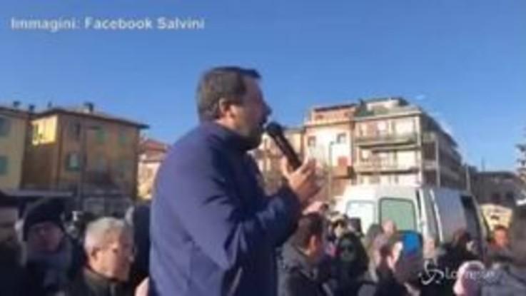 """Gregoretti, Salvini: """"Vado in carcere a Reggio Emilia, spero anche di uscirne..."""""""