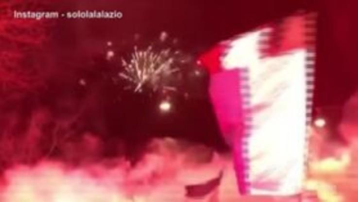 120 anni Lazio: i tifosi invadono Piazza della Libertà
