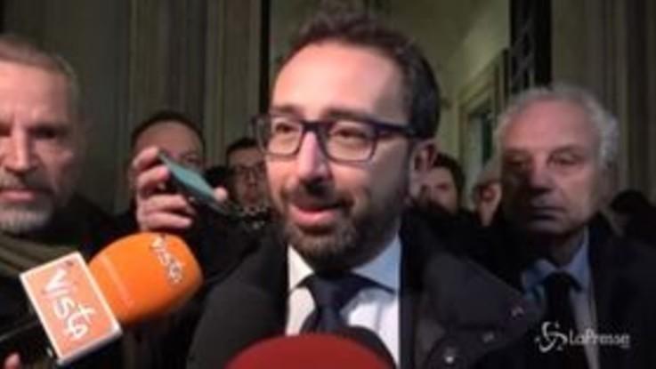 """Prescrizione, Bonafede: """"Non ci saranno più isole di impunità"""""""