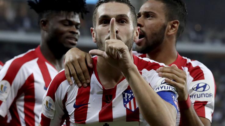 Supercoppa spagnola, Atletico Madrid in finale: 3-2 al Barca
