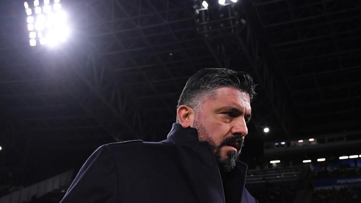 """Serie A: Lazio-Napoli, Gattuso: """"Loro non sono solo Immobile. Uscite falsità su di noi"""""""