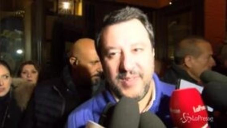 """Salvini: """"In Calabria stroncheremo quella m.... che è la 'ndrangheta"""""""