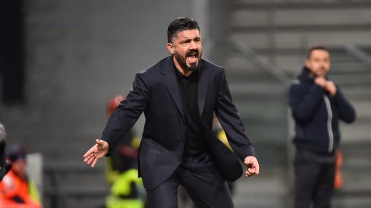 """Napoli, Gattuso cerca la scossa: """"Con la Lazio fare risultato"""""""