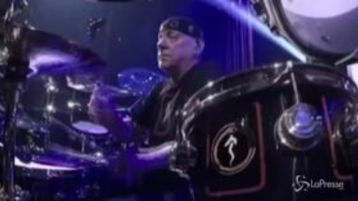 Musica: addio Neil Peart, batterista dei Rush