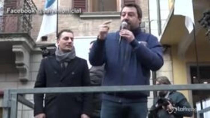 "Salvini: ""Se Berlinguer vedesse Renzi e Zingaretti cambierebbe marciapiede"""