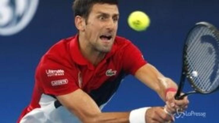 ATP Cup, finale Spagna-Serbia