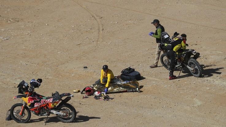Rally Dakar, tragedia nella 7/a tappa: muore portoghese Gonçalves