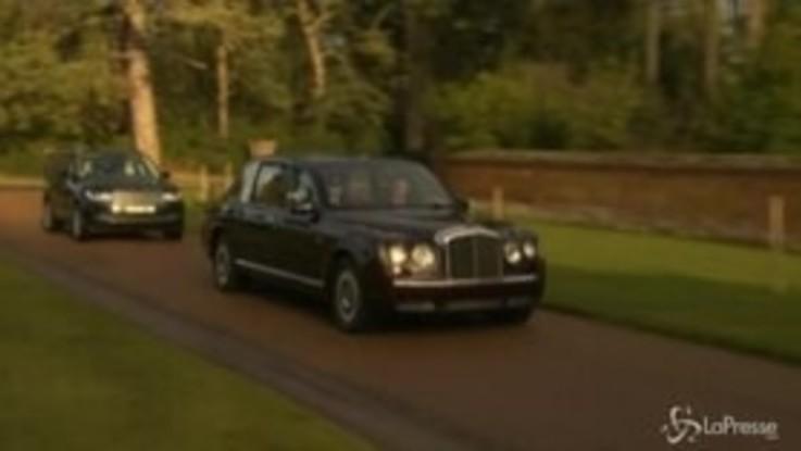 Gb, regina Elisabetta a messa alla vigilia della resa dei conti familiare
