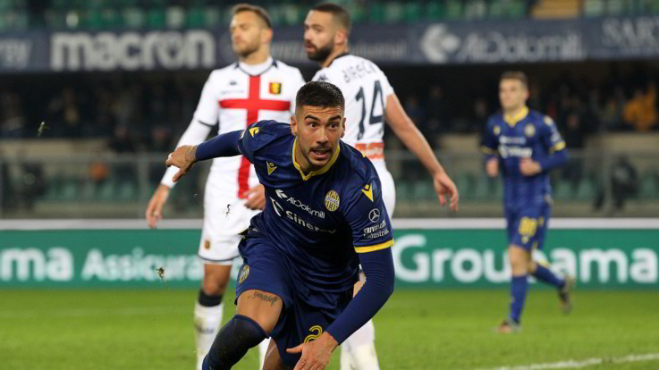 Serie A: Verona-Genoa 2-1, vittoria i rimonta per gli scaligeri