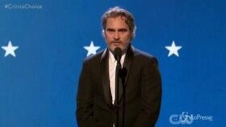 Critics' Choice Awards, altro premio per il Joker di Joaquin Phoenix