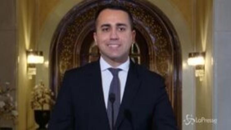 """Libia, Di Maio: """"La Tunisia cruciale per soluzione crisi"""""""