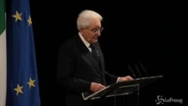 """Mattarella ricorda Ciampi: """"Fu un tenace sostenitore del multilateralismo"""""""
