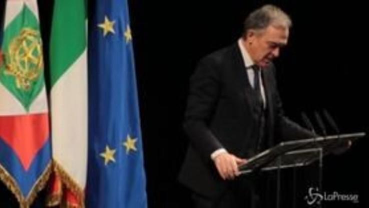 """Enrico Rossi celebra Ciampi: """"Opposto a tendenze sovraniste, il suo fu un patriottismo democratico"""""""