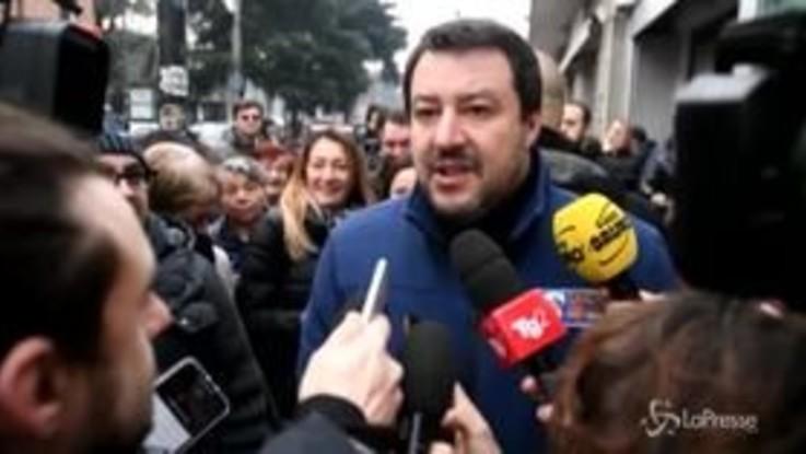 """Gregoretti, Salvini: """"Gente senza onore, mi aspetto che decidano"""""""