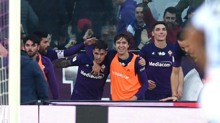 Coppa Italia: Fiorentina-Atalanta 2-1, viola contro Inter ai quarti