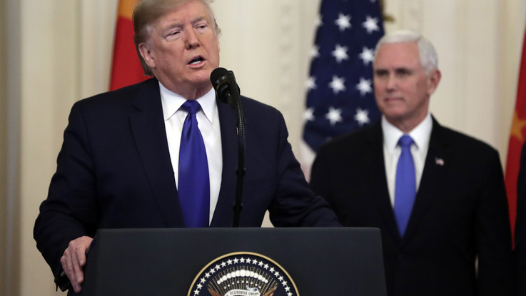"""Dazi, Trump: """"Oggi firma accordo storico, riscriviamo errori passato"""""""