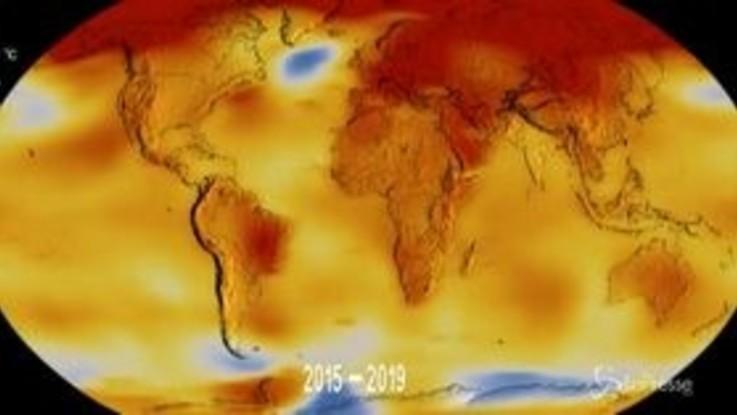 Clima: gli ultimi 5 anni i più caldi dal 1880