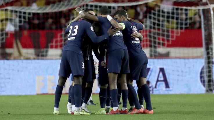 Ligue 1, Psg cala poker in casa Monaco nel recupero