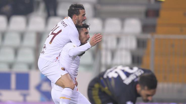 Coppa Italia, la Roma riparte: doppietta Pellegrini stende Parma. Ora la Juve