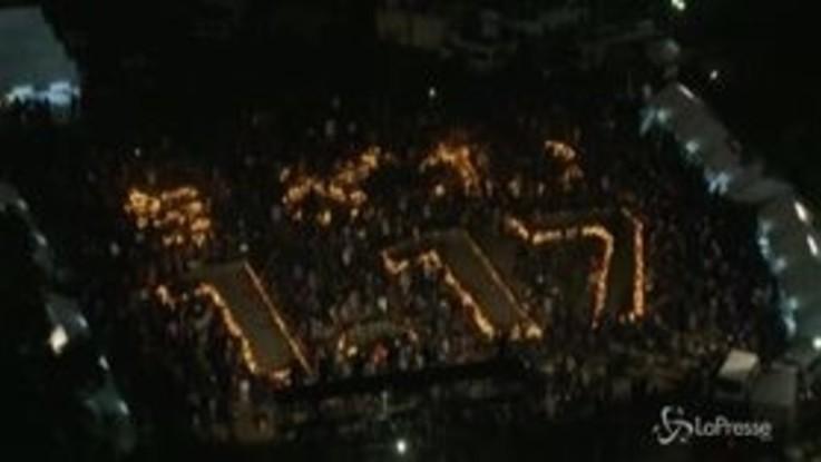 Il Giappone ricorda il terremoto di Kobe