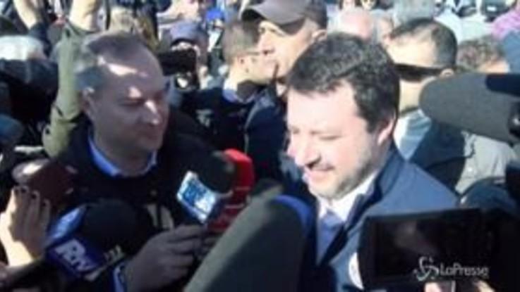 """Calabria, Salvini: """"Unica immigrazione per noi far rientrare i calabresi costretti a scappare per lavorare"""""""