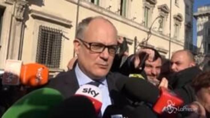"""Fisco, Gualtieri: """"Bene incontro con sindacati, ampia convergenza su cuneo"""""""
