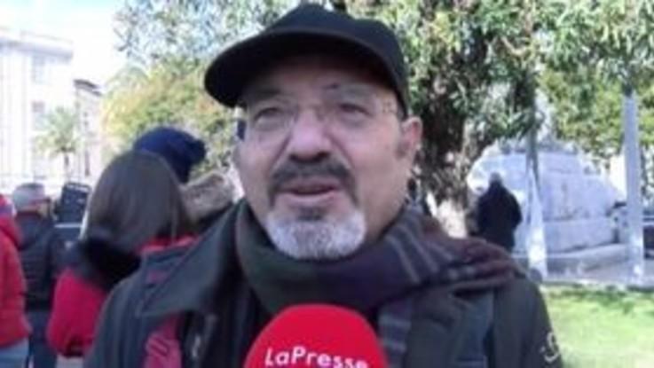"""A Catanzaro """"Tutti con Gratteri"""", Pino Aprile: """"In piazza per ricostruire la società"""""""